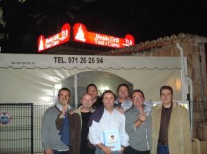 Foto Oficial de la jornada Toni y Curroo